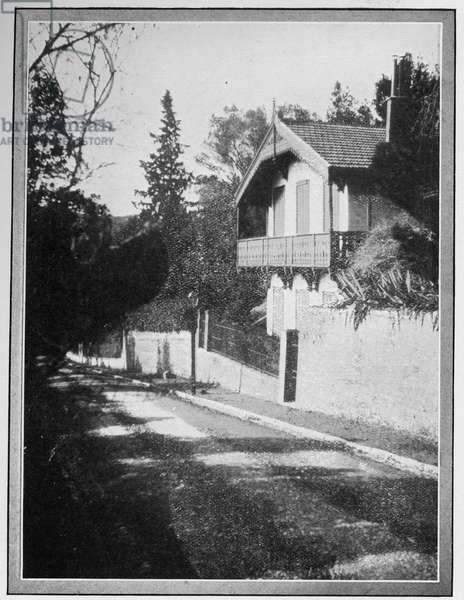 'Chalet La Solitude', Hyères, France, home of Robert Louis Stevenson from 1882-84 (photo)