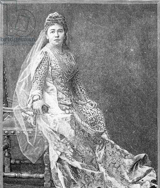 Madame Albani, 1893 (litho)