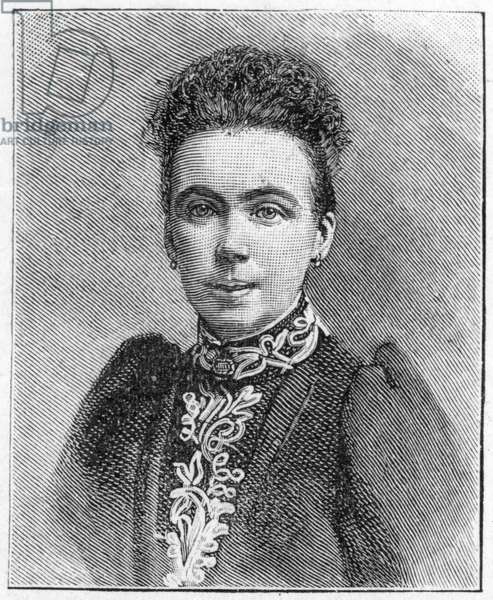 Edna Lyall, 1893 (litho)