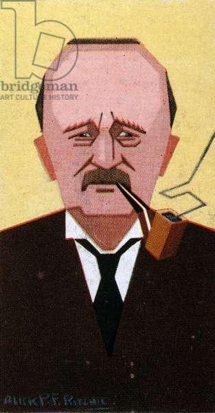 J.M. Barrie, 1926 9colour litho)