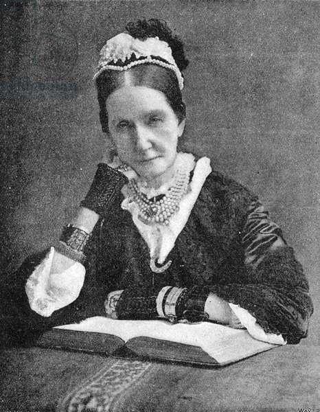 Angela Burdett-Coutts, c. 1893 (litho)
