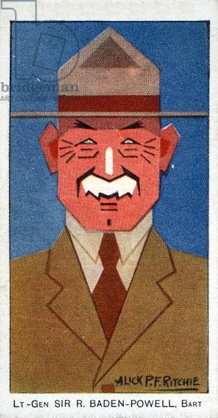 Lt-Gen. Sir R. Baden-Powell, 1926 (colour litho)