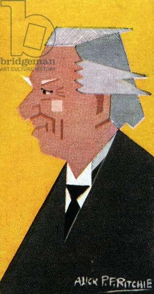 Herbert Asquith, 1926 (colour litho)