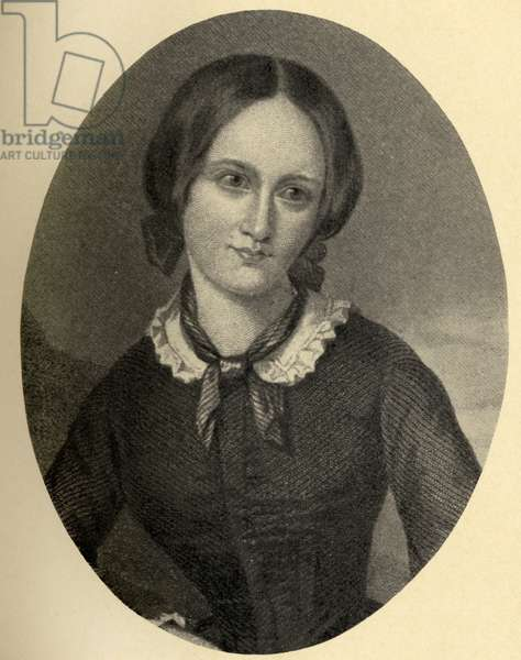 Charlotte Bronte (1816-55) illustration from 'Little Journeys to the Homes of Famous Women', published, 1897 (litho)