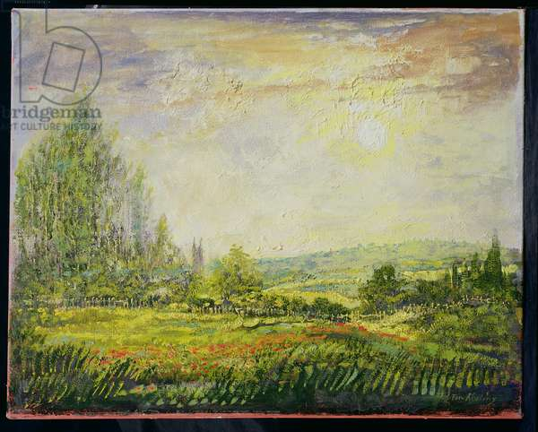 'Summer', in the manner Claude Monet (1840-26) (oil on canvas)