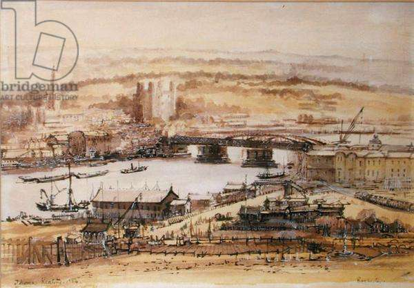 Rochester, Kent, 1954 (w/c on paper)