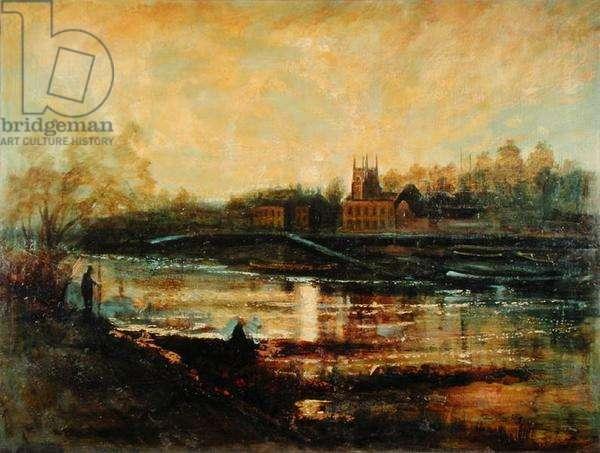 Landscape, c.1950 (oil on canvas)