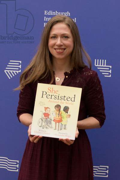 Chelsea Clinton, Edinburgh International Book Festival, 2018  (photo)