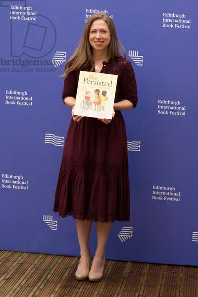 Chelsea Clinton, Edinburgh International Book Festival, 2018  (photo)
