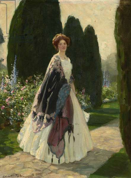 The Garden of Daydreams, c.1920 (oil on canvas)