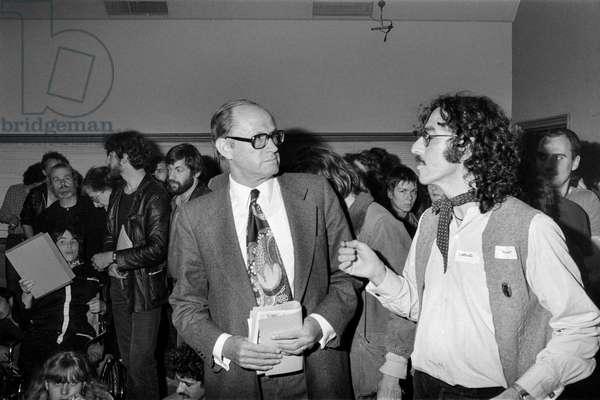 Switzerland Zurich 80s Movement, 1980 (b/w photo)