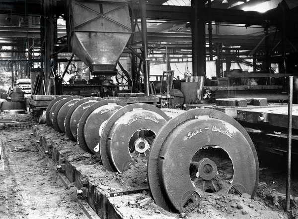 Switzerland Rieter Machine Factory, 1940 (b/w photo)