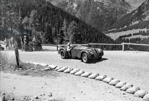 Switzerland Willy Daetwyler, 1949 (b/w photo)