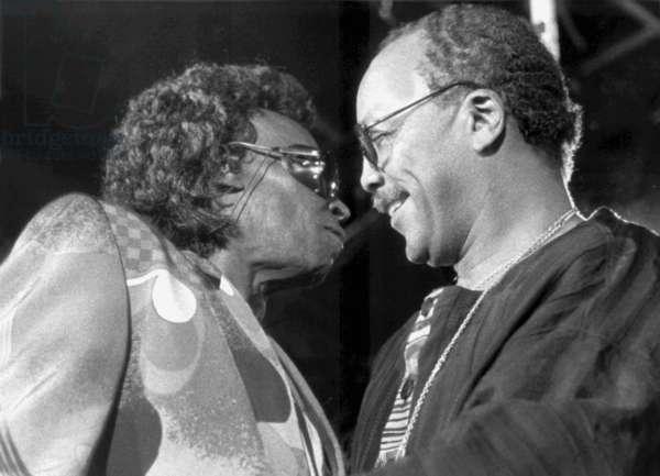 Miles Davis et Quincy Jones