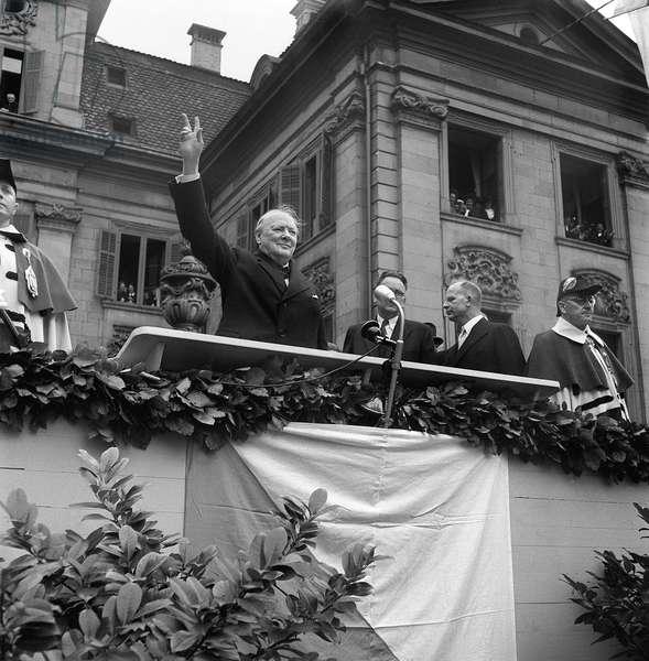 Winston Churchill, 1946