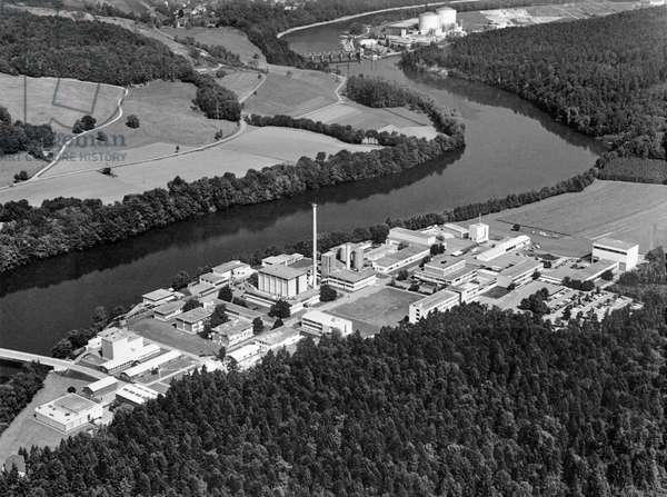 Switzerland Research Würenlingen, 1970 (b/w photo)