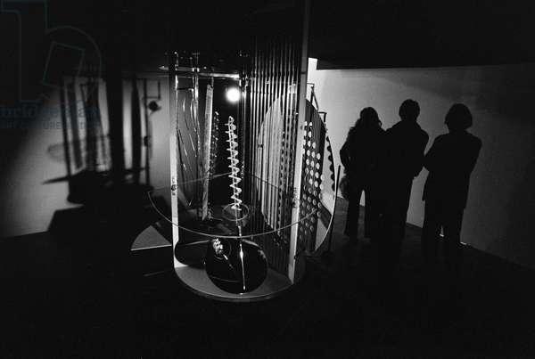 Switzerland Art László Moholy-Nagy, 1975 (b/w photo)