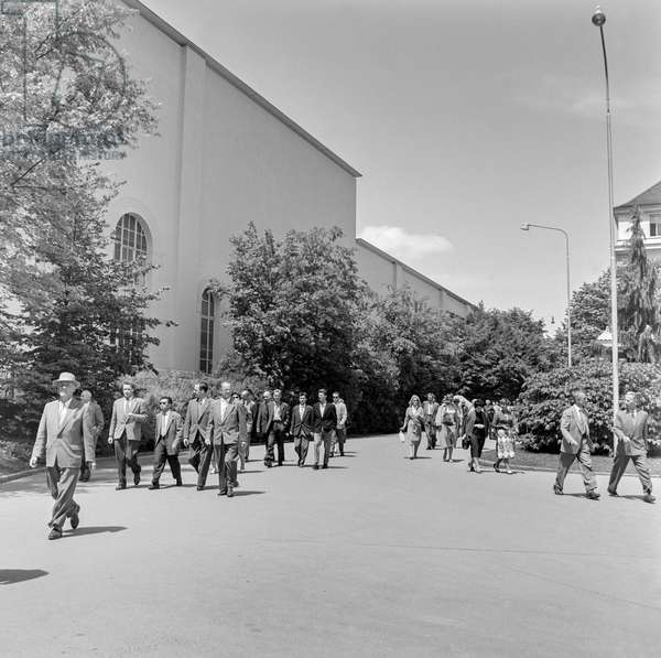 Switzerland Machinery Industry Bbc, 1958 (b/w photo)