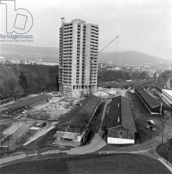 Switzerland Machinery Industry Bbc, 1966 (b/w photo)