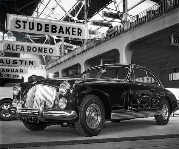 Switzerland, 19TH Geneva Motor Show, 1949 (b/w photo)