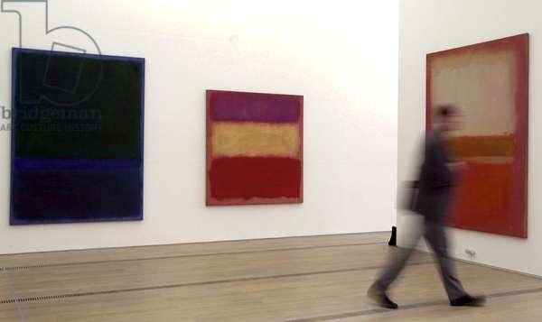 Paintings by Mark Rothko