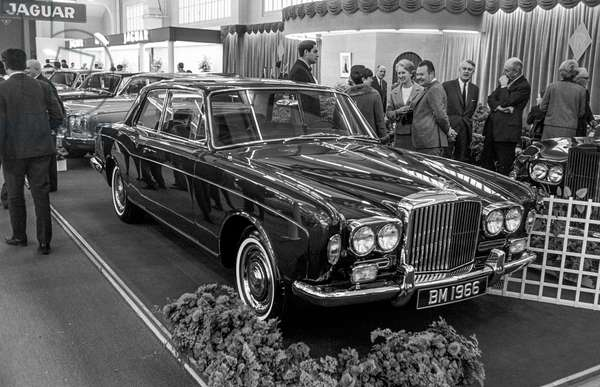 Switzerland 36th Geneva Motor Show 1966, 1966 (b/w photo)