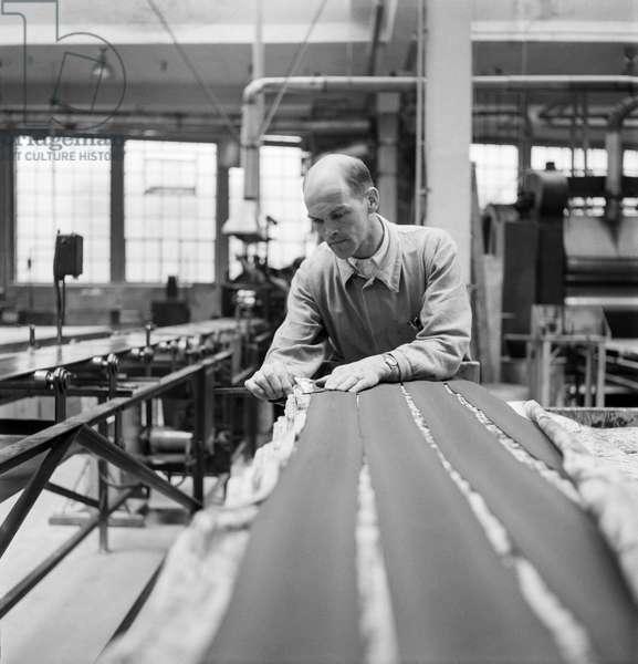 Switzerland Production Rubber Tyres (b/w photo)