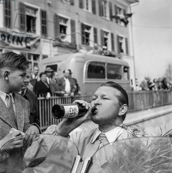 Switzerland Willy Daetwyler, 1951 (b/w photo)