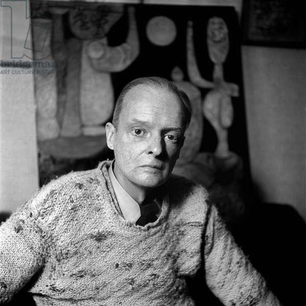 Switzerland Art Paul Klee, 1939 (b/w photo)