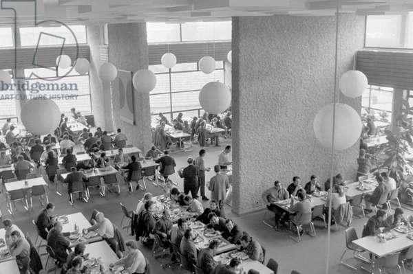 Switzerland Machinery Industry Bbc, 1971 (b/w photo)