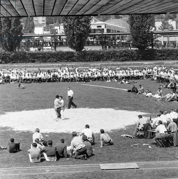 Switzerland Expo, 1964 (b/w photo)