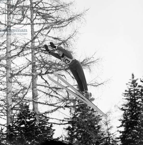 Switzerland Juerg Wolfberger (b/w photo)