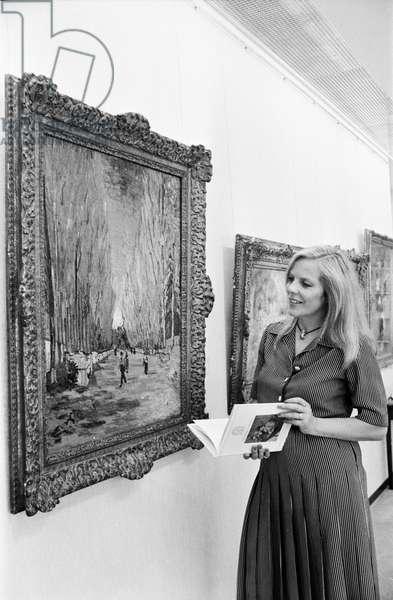Switzerland Christie 'S Reinshagen, 1979 (b/w photo)