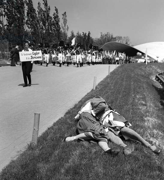 Switzerland Expo 64 Glarnertag (b/w photo)
