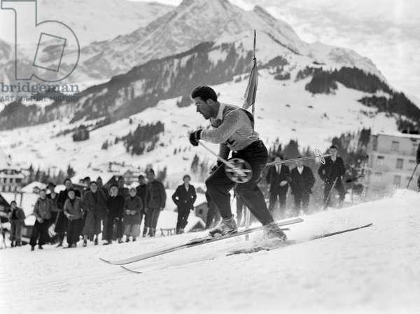 Switzerland Christian Schmid, 1941 (b/w photo)