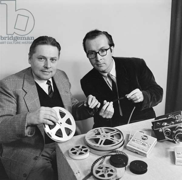 Switzerland Television 1956, 1956 (b/w photo)