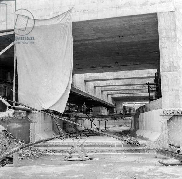 Switzerland Cern, 1956 (b/w photo)