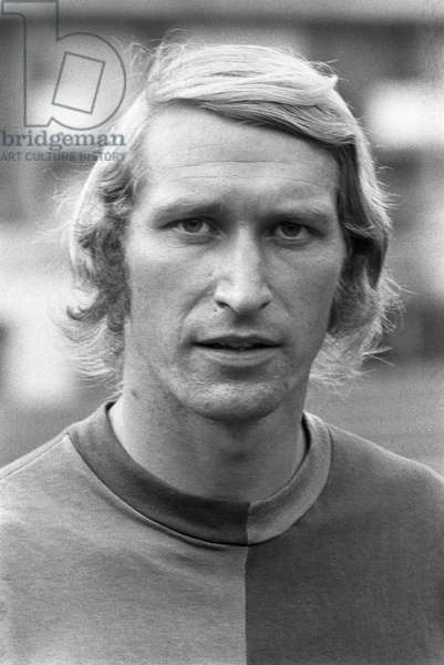Switzerland Soccer Karl Odermatt (b/w photo)