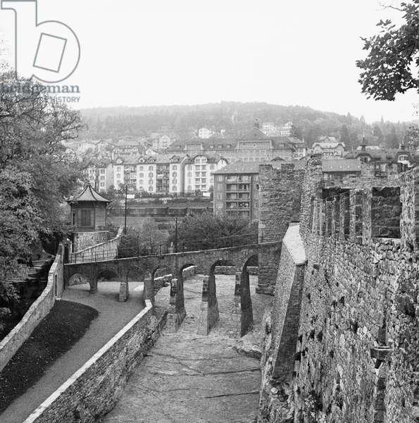 Switzerland Neuchatel, 1947 (b/w photo)
