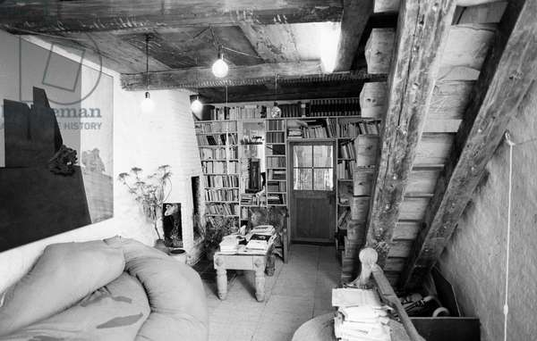 Switzerland Literature Erica Pedretti, 1980 (b/w photo)