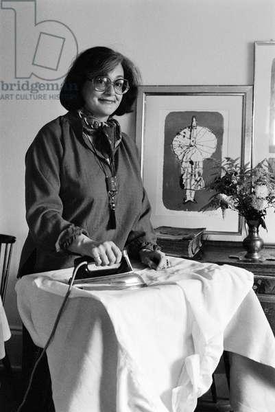 Switzerland Radio Drs Elisabeth Fast, 1980 (b/w photo)