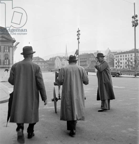 Switzerland Federal Elections, 1943 (b/w photo)