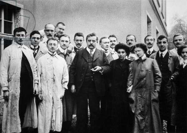 Switzerland Alfred Werner, 1913 (b/w photo)
