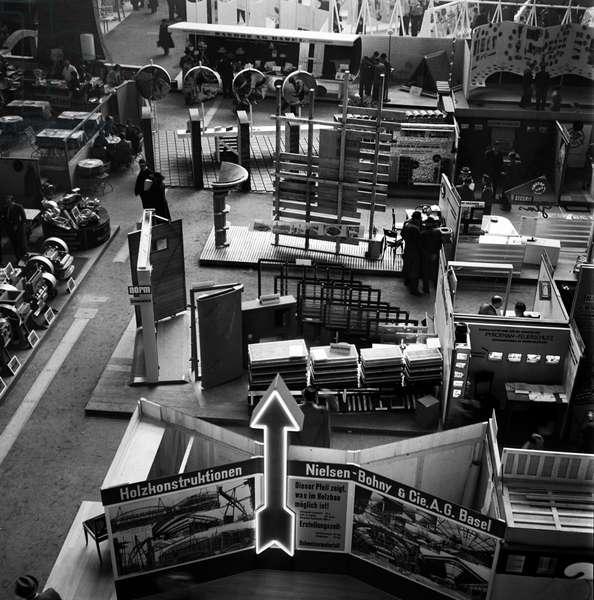 Switzerland Basel Pattern Fair 1942, 1942 (b/w photo)