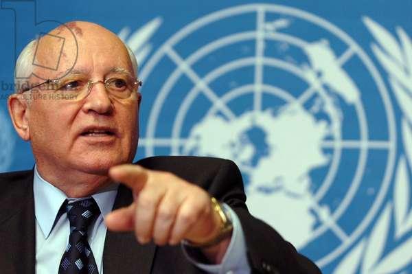 Mikhail Gorbatchev, 2005