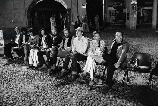 Switzerland Film Festival Locarno 1977, 1977 (b/w photo)