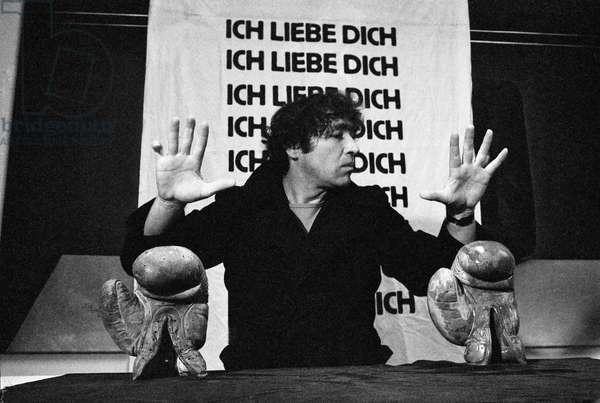 Switzerland Art Alex Sadkowsky, 1979 (b/w photo)