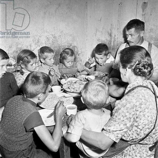 Switzerland Stadler Family, 1942 (b/w photo)