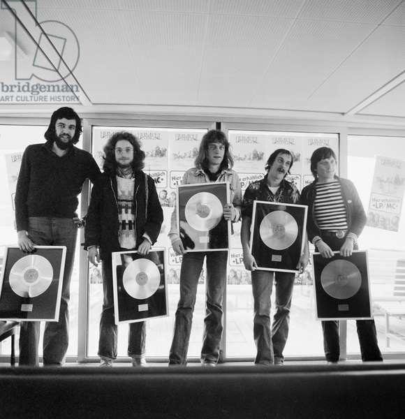 Switzerland Music Rumpelstilz, 1977 (b/w photo)