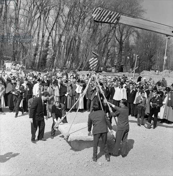 Switzerland Lausanne Expo 64, 1962 (b/w photo)